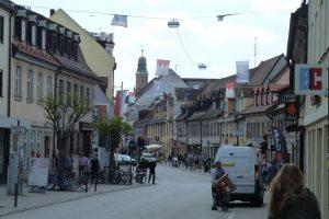 Frankenrechen in der Altstadt